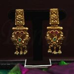 Imitation Antique Traditional Pearl Earrings