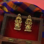 Traditional AD Peacock Motif Jhumka