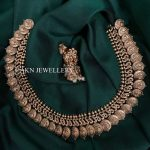 Antique Coin Necklace Set