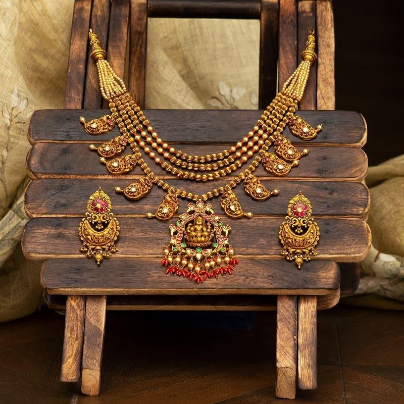 antique-fusion-necklace-set