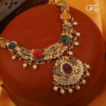 Designer Lakshmi Necklace