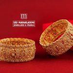 Gold Nakashi Bridal Bangles