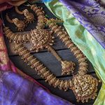 Imitation Lakshmi Bridal Jewellery Set