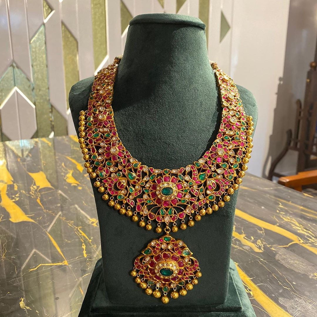 kundan-polki-necklace-set