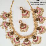 Light Weight Lakshmi Guttapusalu Necklace