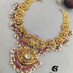 Nakashi Kundan Guttapusalu Necklace