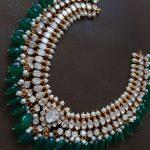 Silver Jadau Necklace