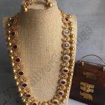Stone Gold Beads Long Haram