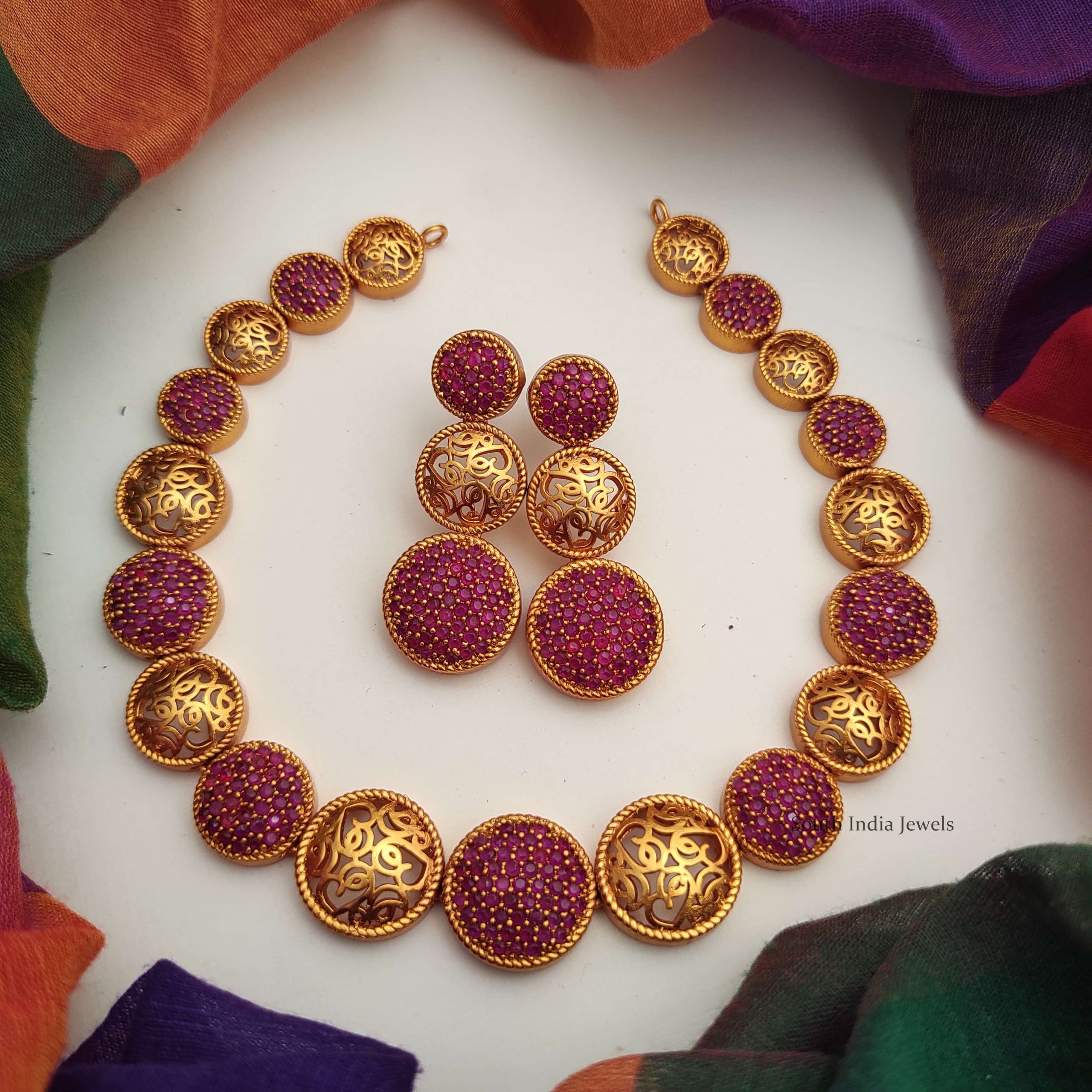 Designer-Trendy-Wear-Red-Color-Stone-Necklace-01-scaled