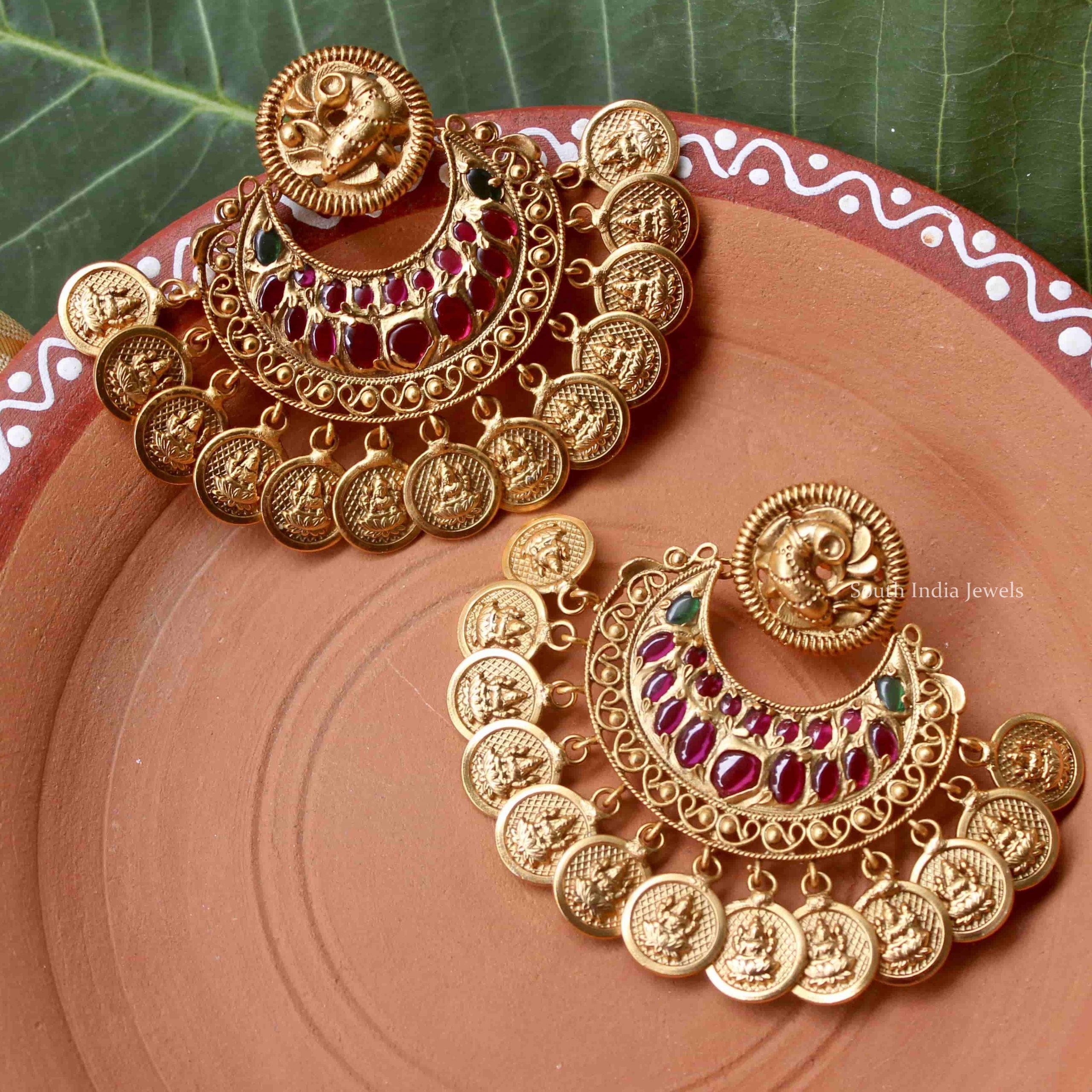 Grand-Peacock-Design-Lakshmi-Coin-Earrings-01-scaled