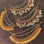 Antique Earchains For Heavy Jhumkas