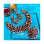 Antique Nakashi Necklace And Earrings