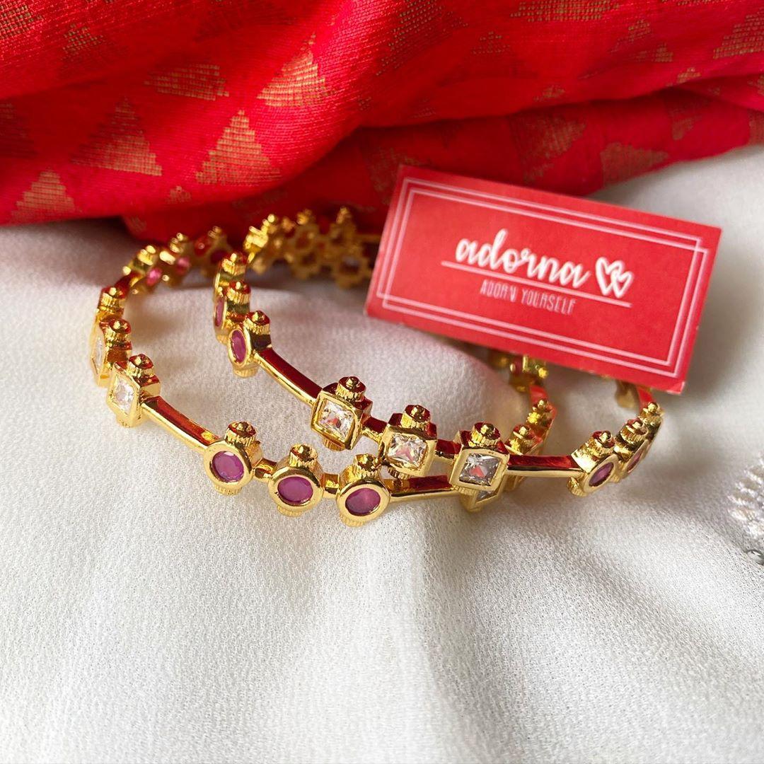 gold-finish-ruby-white-stone-bangles