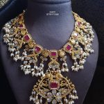 Gold Plated Guttapusalu Necklace