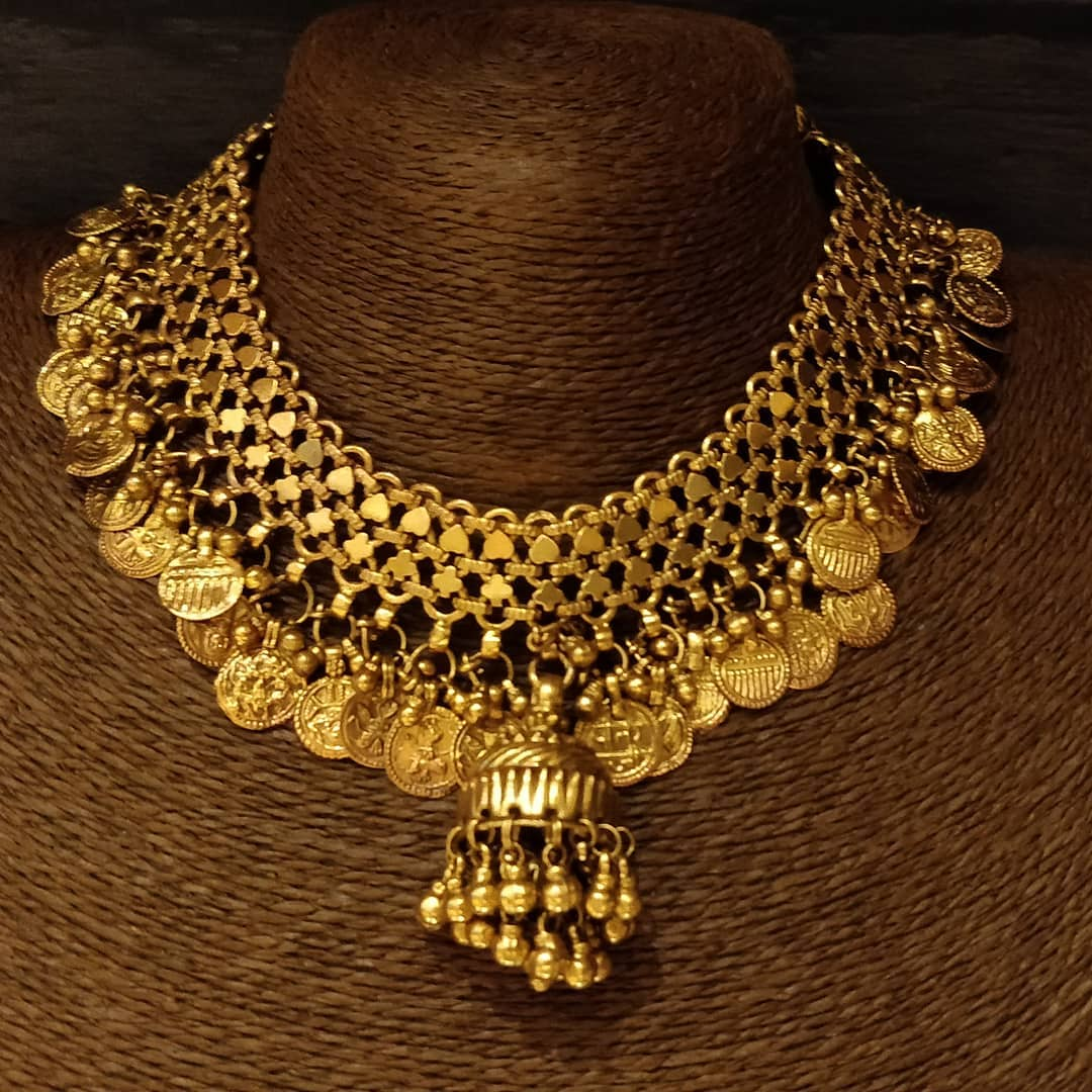 gold-plated-silver-coin-necklace