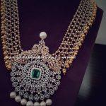 Handmade American Diamond Necklace