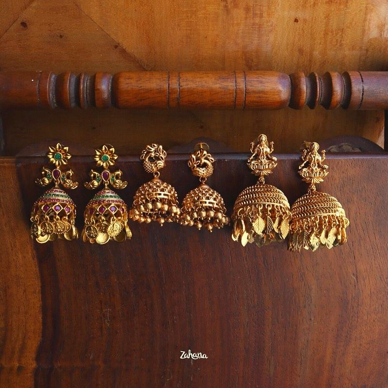 imitation-temple-jhumka-collection