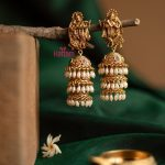 Radha Krishna Pearl Drops Jhumka