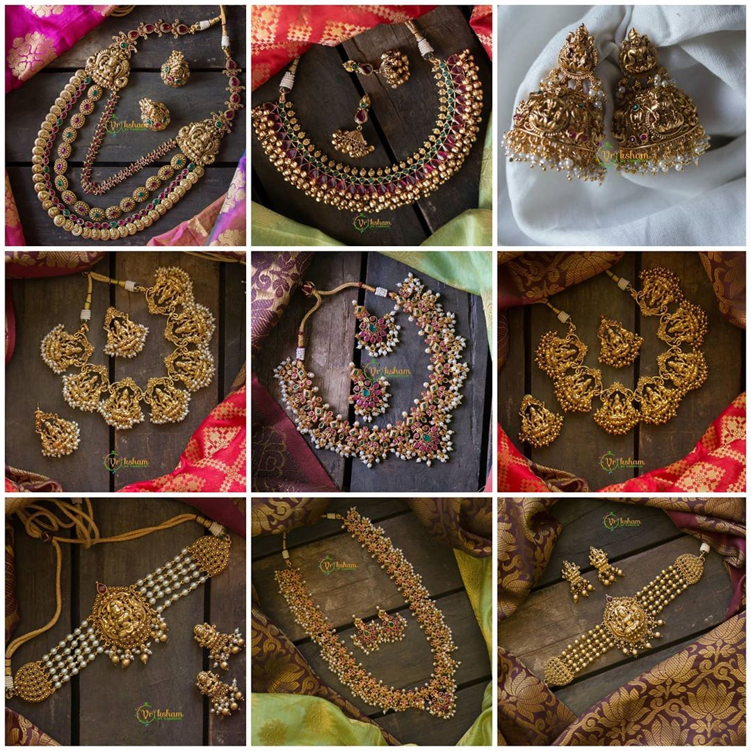 south-indian-style-imitation-necklace-sets