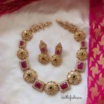Stone And Kundan Necklace
