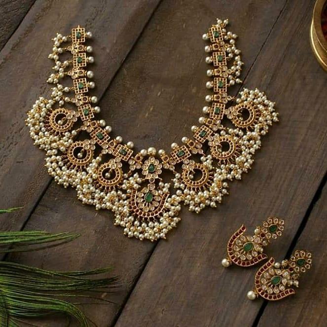 stone-studded-guttapusalu-necklace-set