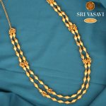 Stylish Two Layer Gold Necklace