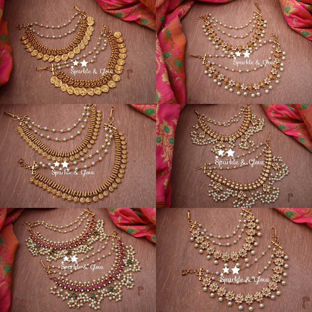 traditional-ear-chains-for-heavy-jhumkas