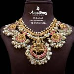 Traditional Guttapusalu Lakshmi Gold Necklace