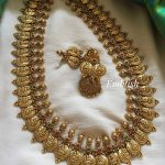 Lakshmi Coin Mid Length Necklace Set