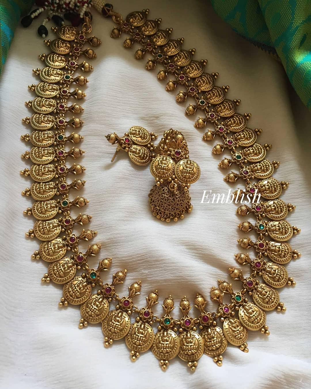 Lakshmi-coin-midlength-neckpiece