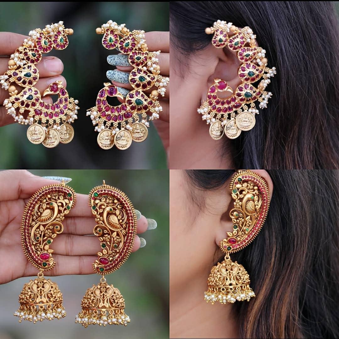antique-earcuff-earrings