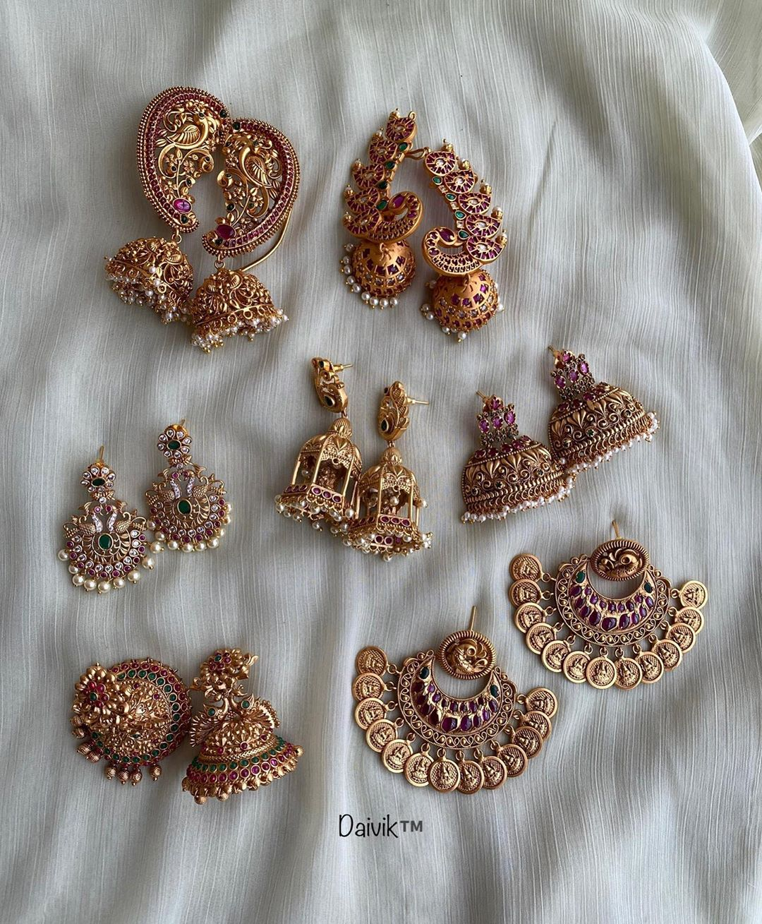 antique-imitation-earrings-collection