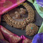Antique Nakashi Necklace Set