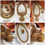 Antique Necklace And Jhumkas Collection