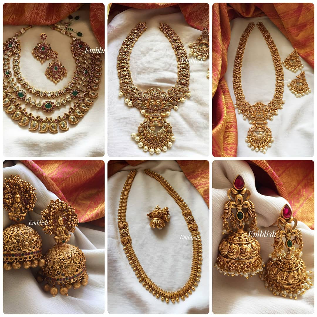 antique-necklace-jhumkas-collection