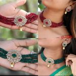 Beads Choker Necklace Collection