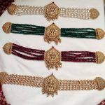 Beads Temple Choker Necklace Collection