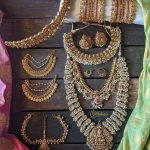 Complete Antique Bridal Jewellery Set