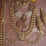 Gold Alike Polished Nagas Bridal Set
