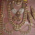Gold Alike Polished Nagas Bridal Set