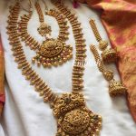Gold Alike Semi Bridal Set