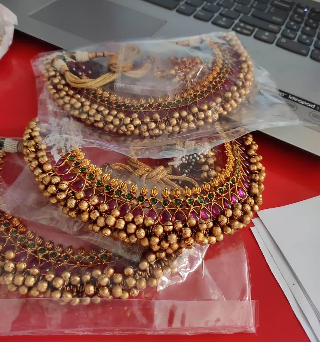 gold-like-cluster-pearls-necklaces