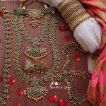 Green Colour Bridal Jewelry Set
