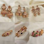 Imitation Jhumkas And Bangles Collection