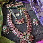 Jadau Kundan Mango Necklace Set