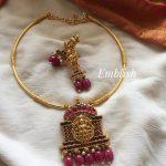 Lakshmi Pipe Necklace Set