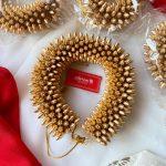 Reusable Gold Mottu Hair Accessory