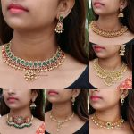 Short Length Imitation Necklace Collection