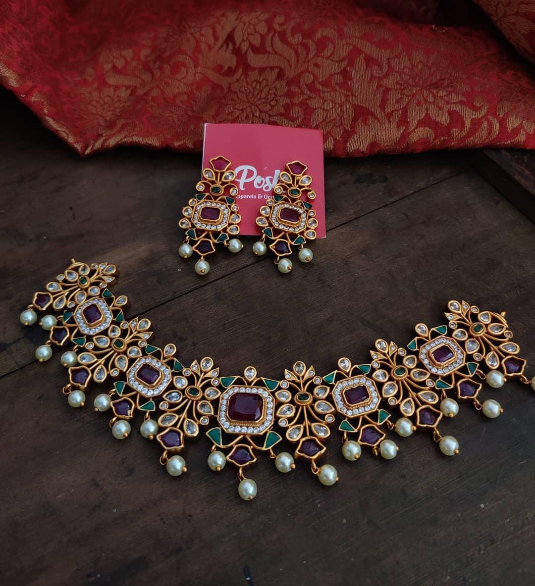 stone-studded-imitation-necklace-set