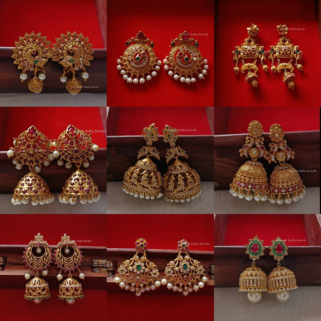 affordable-antique-jhumkas-collection